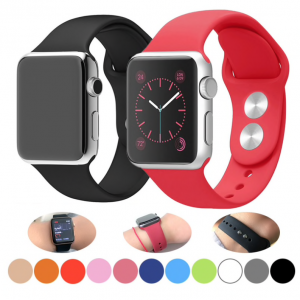 Pulso en Silicona Premium para Apple Watch 38/40 42/44mm.